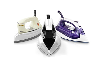 What are the differences between a Dry Iron, Heavy Iron and a Steam Iron?